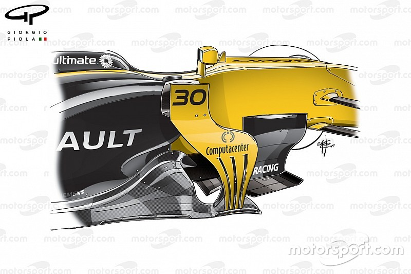 Análisis técnico: ¿Cómo Renault progresó con el RS17?