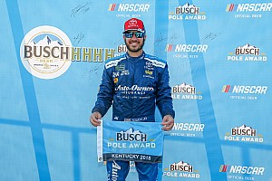 NASCAR Cup Qualifying report Martin Truex Jr. wins Cup pole at Kentucky in bid to repeat
