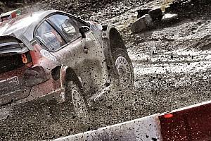 WRC Важливі новини Галерея: брудні машини на Ралі Уельсу
