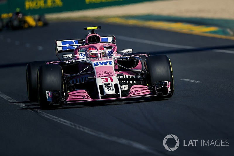 Ocon: Force India'da panik yok