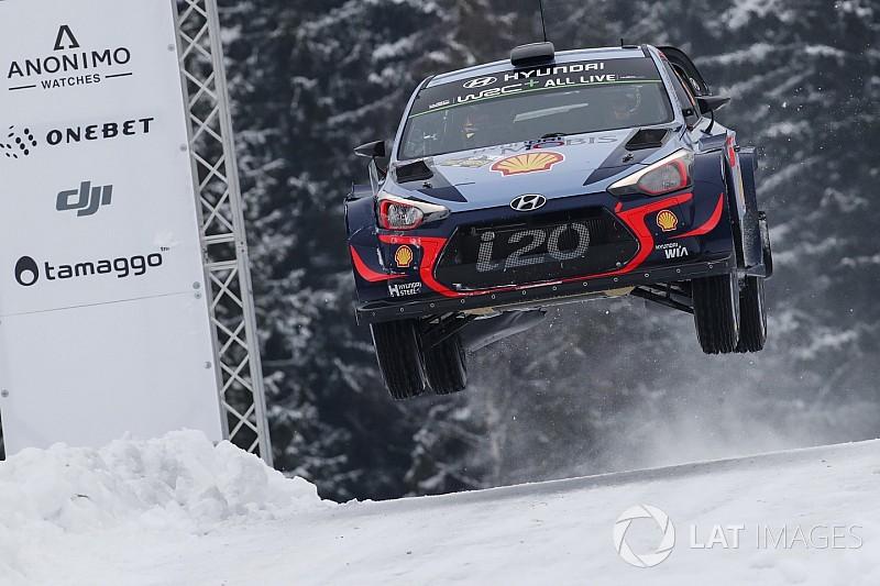 Thierry Neuville gewinnt die WRC Rallye Schweden 2018