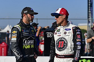 Harvick calls Johnson
