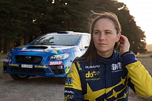 WRC Breaking news Taylor 'heartbroken' after failure robs her of second title