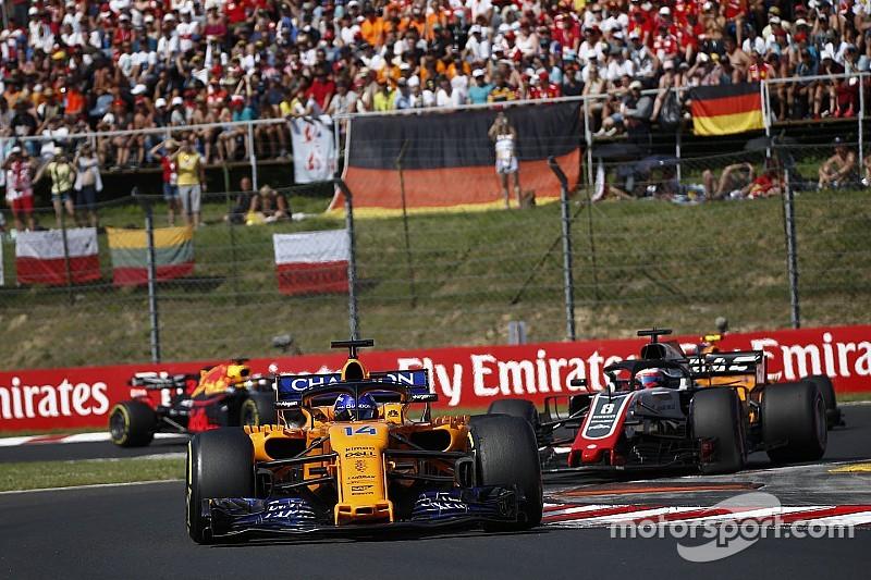 Le manque d'action en piste a poussé Alonso à dire stop