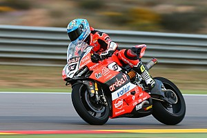 World Superbike Practice report Aragon WSBK: Melandri edges Rea in Friday practice