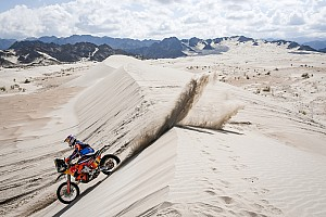 Dakar Stage report Dakar 2018, Stage 13: Price sets pace, Walkner nears victory