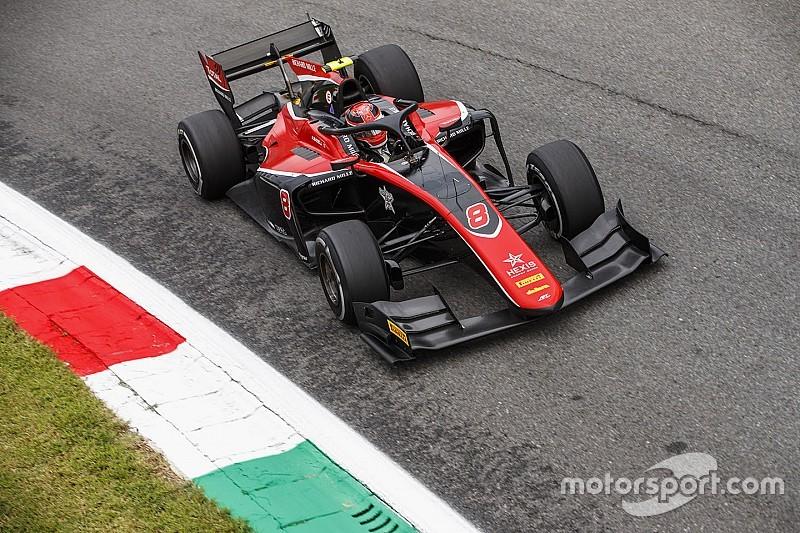 Monza F2: Russell pole pozisyonunda