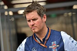 Rob Smedley lavorerà come consulente per la F1 dopo l'addio alla Williams