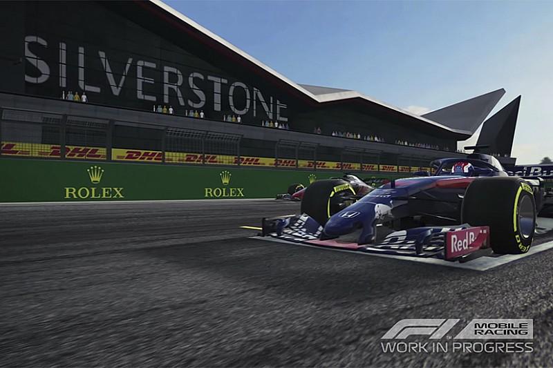 El primer tráiler del juego para dispositivos móviles de F1