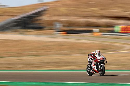 Polesitter Nakagami ook snelste in warm-up GP van Teruel