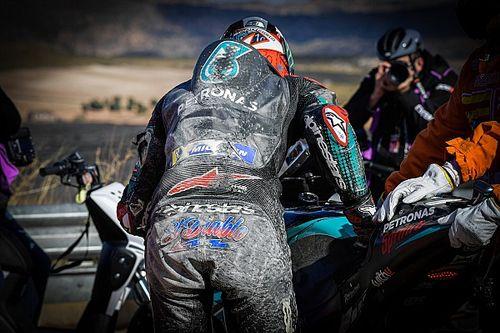 Aragon MotoGP: Quartararo escapes serious injury in crash