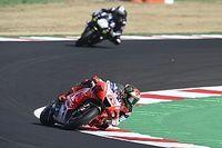 Bagnaia pide un cambio en la normativa de los tear-off en MotoGP