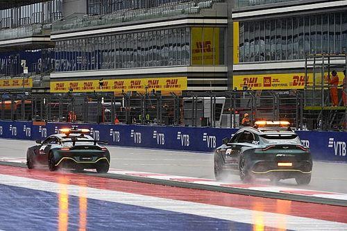 La F1 se prepara para un sábado difícil por la lluvia en Sochi