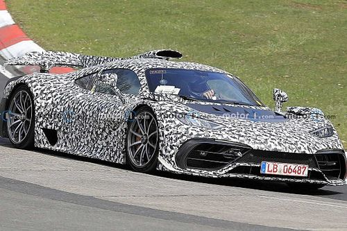 Mercedes-AMG One spied on Nurburgring Nordschleife