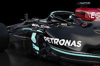 Foto's: De nieuwe F1-auto van Mercedes uit alle hoeken en standen