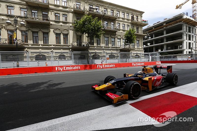 GP2 в Баку: Джовінацці здобуває перший поул у відкладеній кваліфікації