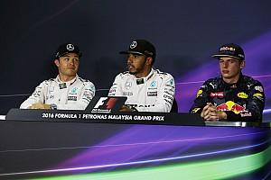 Formula 1 Press conference Malaysian GP: Post-qualifying press conference