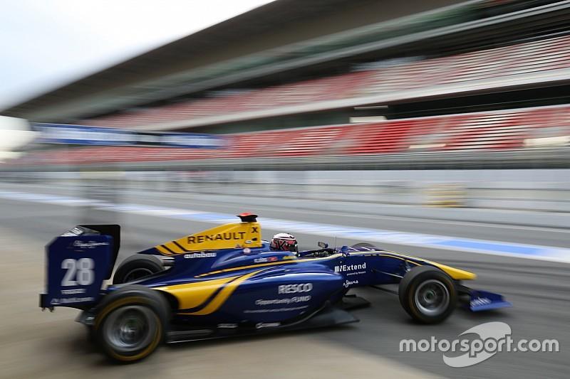 Йорг возглавил протокол последнего дня тестов GP3