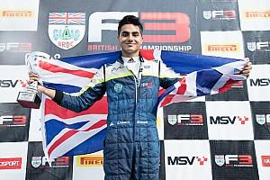 BF3 News Formel 3: Britischer Teenager bricht Rekord von Ayrton Senna