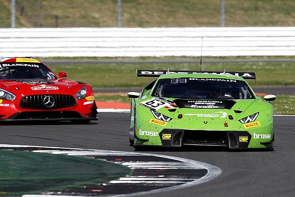 La Lamborghini della Grasser Racing concede il bis a Silverstone