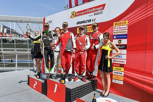 Ferrari Challenge pilotlarımız Monza'daydı