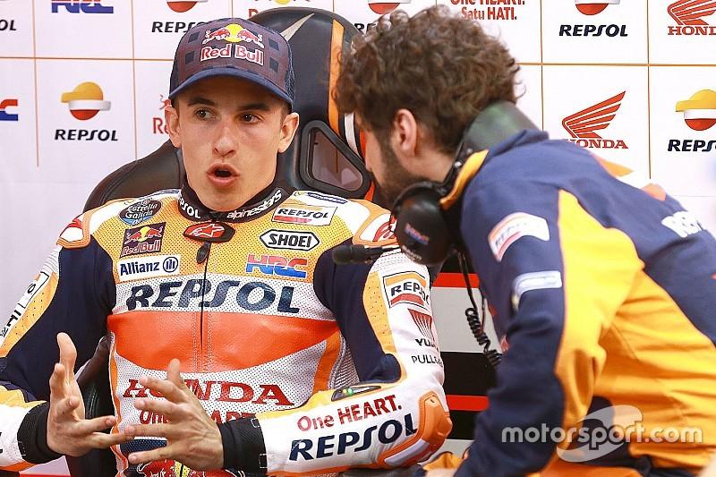 """Márquez: """"En este circuito, un podio es casi como una victoria para nosotros"""""""