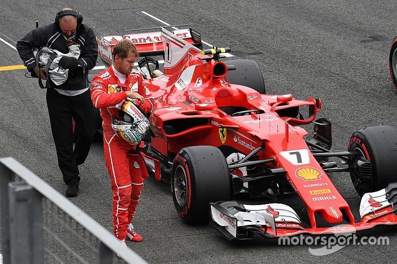 Vettel reconoció que no tenía oportunidades de pelear por la pole