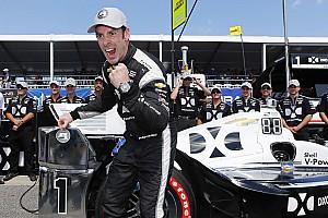 IndyCar Reporte de calificación Pagenaud consigue su primera pole del año