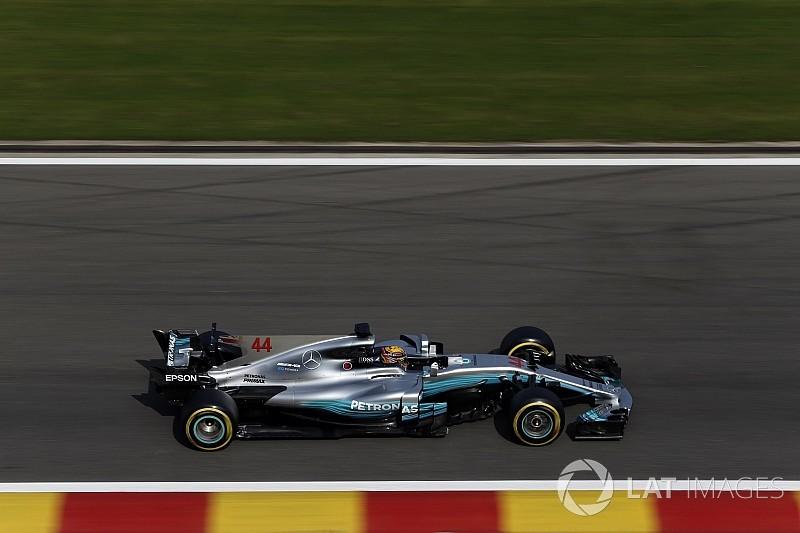 """Hamilton exalta Mercedes em Spa: """"Melhor começo possível"""""""