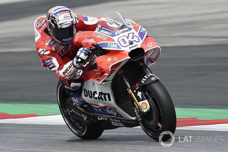 Dovizioso brilha e supera Márquez na Áustria