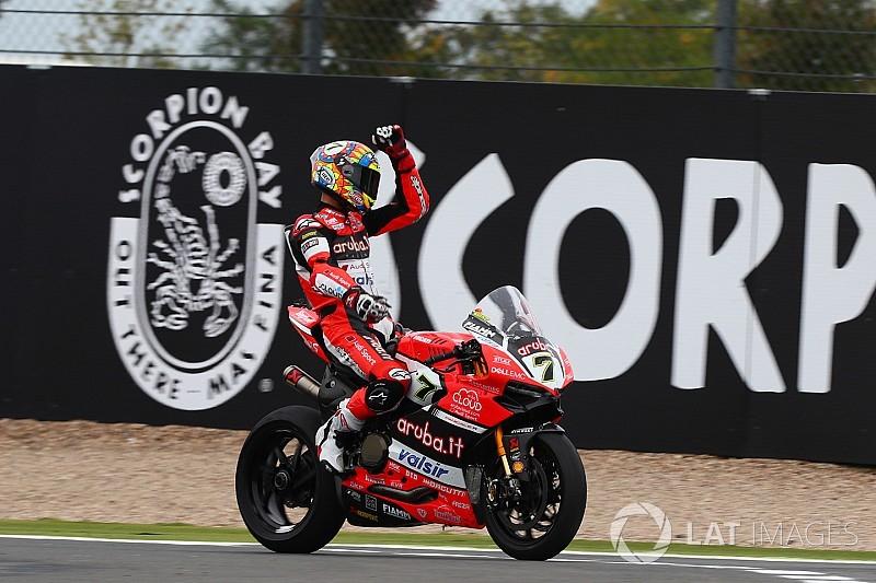 Course 2 - Davies sauve l'honneur devant les deux Yamaha !