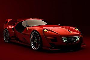 Auto Actualités Quand un designer imagine la Ferrari du futur