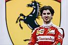 Джовинацци дебютировал за рулем Ferrari