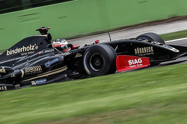 فورمولا 3.5: بايندر يفوز بالسباق الأوّل