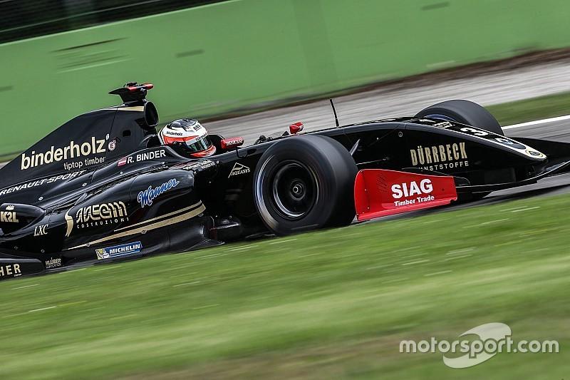 Nissany é punido e Binder vence corrida 1; Fittipaldi é 10º