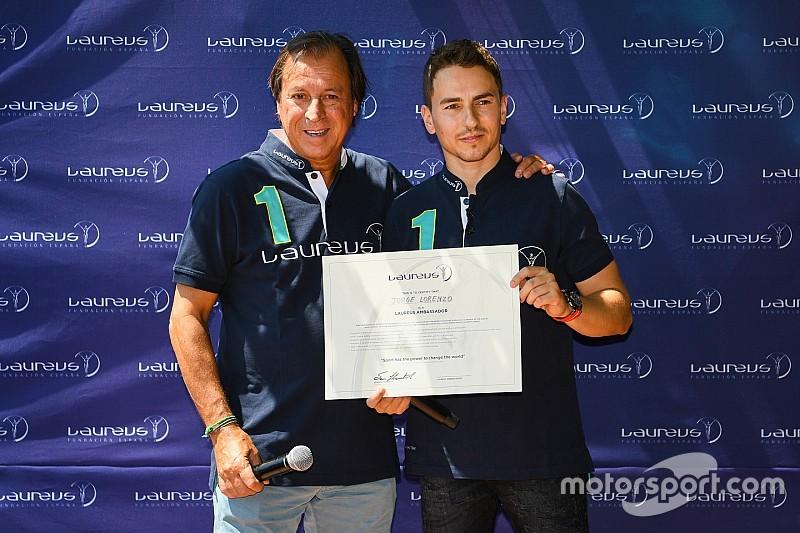 Jorge Lorenzo, nuevo embajador de la Fundación Laureus