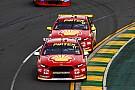Supercars Les Ford Falcon brillent à Melbourne