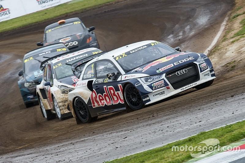 Ekstrom logró el triunfo en la apertura del Mundial de Rallycross