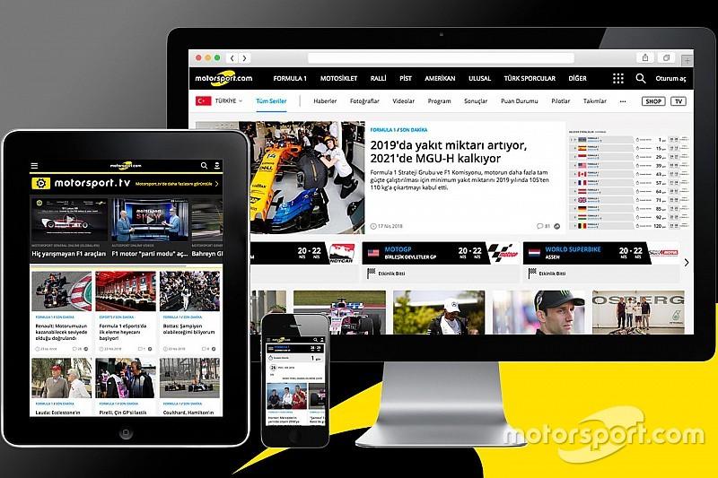 Motorsport.com Türkiye, yeni tasarımına geçiş yaptı