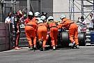 Forma-1 Red Bull-uralom az időmérő előtt a Monacói Nagydíjon: Verstappen a falban