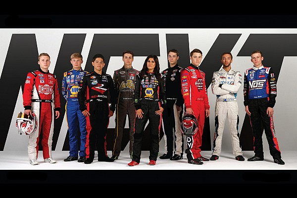 NASCAR Breaking news Nine members of 2018 NASCAR Next class are unveiled