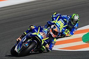 MotoGP Réactions Suzuki termine en force, maintenant place aux tests pour 2018