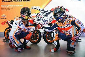 MotoGP Actualités Márquez et Pedrosa approuvent le nouveau système de travail de Honda