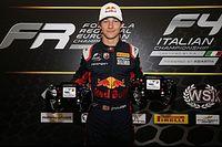 Un protégé de Red Bull titré en F4 Italie