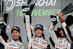 上海6小时:丰田包揽前二,成龙DC车队主场获胜
