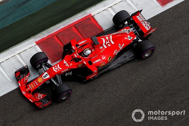 Abu Dhabi, Test Pirelli F1, Giorno 1: Vettel porta la Ferrari in vetta a metà giornata