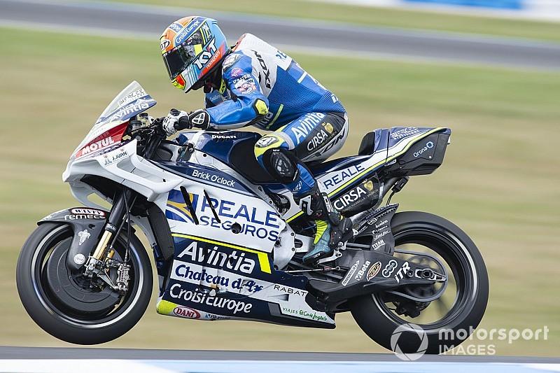 Premier point en MotoGP pour Siméon en Australie