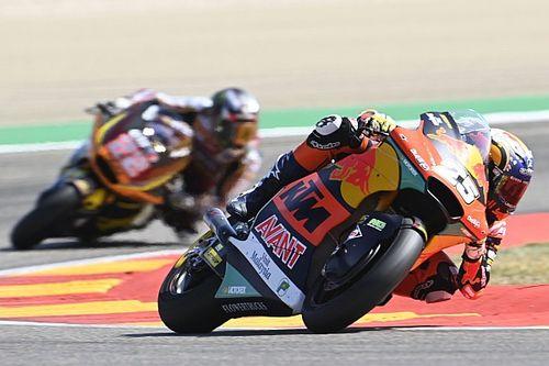 Raúl Fernández resiste a Gardner para ganar en Misano