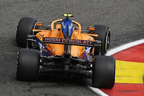 Norris' newest engine given all-clear after Spa F1 crash