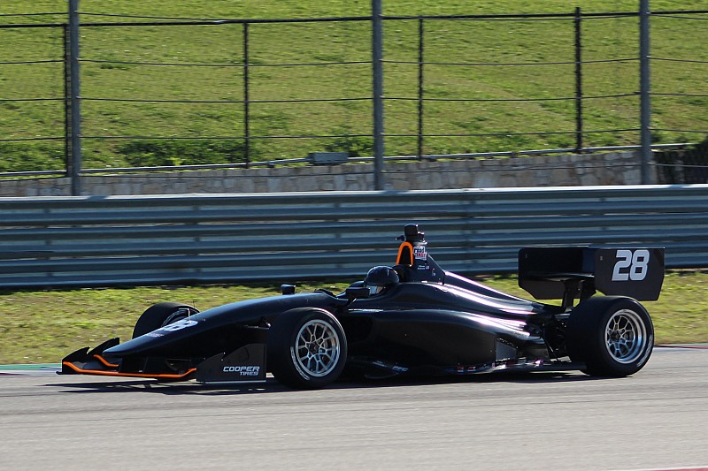 Askew tops final Indy Lights COTA test